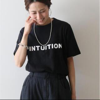 フレームワーク(FRAMeWORK)のFRAMeWORK ロゴTシャツ ブラック 美品 フレームワーク(Tシャツ(半袖/袖なし))