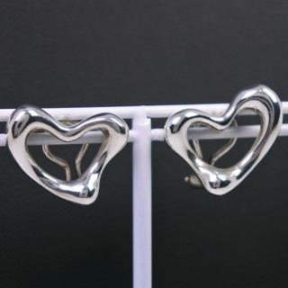 ティファニー(Tiffany & Co.)のティファニー オープンハート エルサペレッティ シルバー925 レデ(イヤリング)