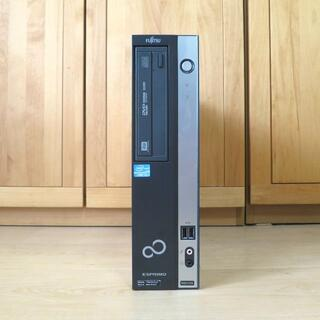 フジツウ(富士通)の富士通 PC i3/新品SSD240GB/8GB/Win10/Office/無線(デスクトップ型PC)