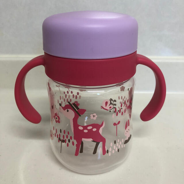 Richell(リッチェル)のRichell トライシリーズ 丸型コップマグ キッズ/ベビー/マタニティの授乳/お食事用品(マグカップ)の商品写真