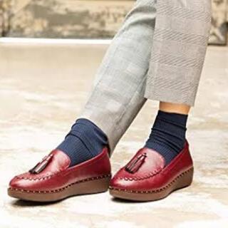 フィットフロップ(fitflop)のfitflop PETRINA PATENT LOAFERS  サイズ 22cm(ローファー/革靴)