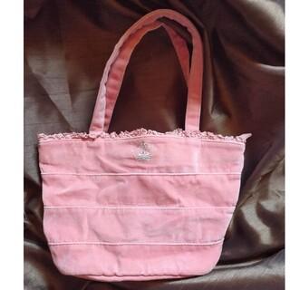 エミリーテンプルキュート(Emily Temple cute)のEmily Temple Cute ピンク色トートバッグ ロリィタ(トートバッグ)
