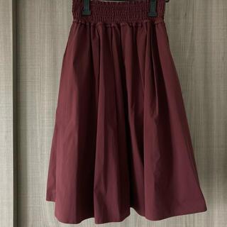 エージーバイアクアガール(AG by aquagirl)のAG by aquagirl 膝丈スカート 新品未使用(ひざ丈スカート)