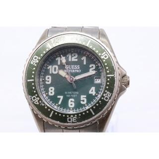ゲス(GUESS)の【W-623】動作品 電池交換済 GUESS ゲス ウォータープロ 腕時計(腕時計)