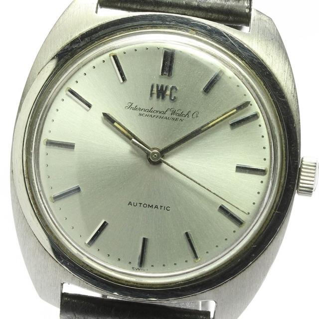 IWC(インターナショナルウォッチカンパニー)のIWC アンティーク Cal.854B  自動巻き メンズ 【中古】 メンズの時計(腕時計(アナログ))の商品写真