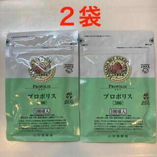山田養蜂場 プロポリス300 詰替用 100球入(2袋)