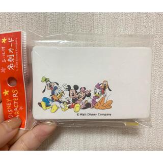 ディズニー(Disney)のミッキー 名刺カード(その他)