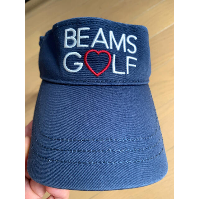 BEAMS(ビームス)のBEAMS GOLF サンバイザー メンズの帽子(サンバイザー)の商品写真
