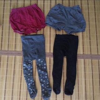 ムジルシリョウヒン(MUJI (無印良品))のショートパンツ かぼちゃパンツ サイズ80 85 女の子 ベビー 無印(パンツ)