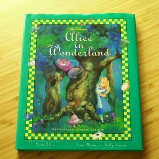 Disney - 不思議の国のアリス 洋書 絵本