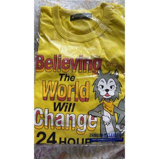 ジャニーズ(Johnny's)の24時間テレビチャリTシャツ 黄色(Tシャツ(半袖/袖なし))