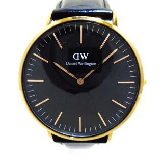 ダニエルウェリントン(Daniel Wellington)のダニエルウェリントン 腕時計 - B40R2 黒(その他)