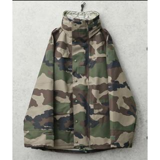 コモリ(COMOLI)のフランス軍 cce フィールド パーカー 迷彩 防水ジャケット(ミリタリージャケット)