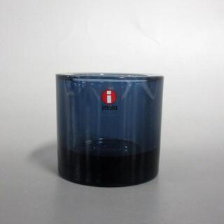 marimekko - マリメッコ 小物美品  ネイビー ガラス