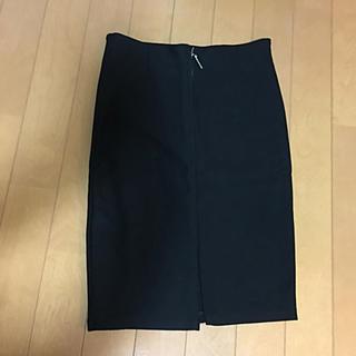 アンズ(ANZU)のタイトスカート 黒(ひざ丈スカート)