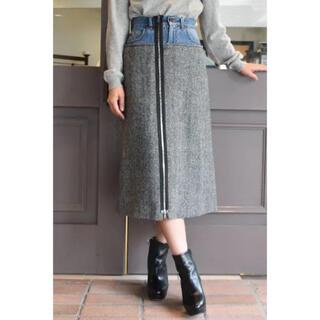 マルタンマルジェラ(Maison Martin Margiela)のマルジェラ スカート 40 デニム Maison Margiela(ロングスカート)