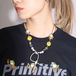 キャピタル(KAPITAL)のEvaemob+SALUTE *EVAE+Smiley Necklace (ネックレス)