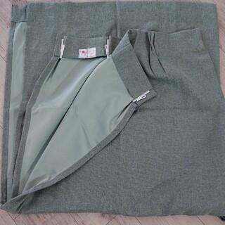 ムジルシリョウヒン(MUJI (無印良品))の無印良品 遮光カーテン グリーン 2枚セット(カーテン)