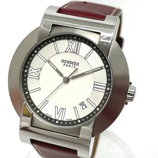 エルメス(Hermes)のエルメス NO2.910 オートクォーツ ノマード コンパス デイト 腕時計(腕時計(アナログ))