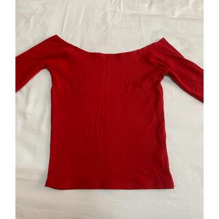 スライ(SLY)のリブトップス(Tシャツ(長袖/七分))