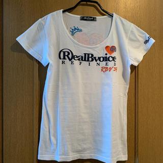 リアルビーボイス(RealBvoice)のReal Bvoice  リアルビーボイス レディース 半袖 Tシャツ(Tシャツ(半袖/袖なし))