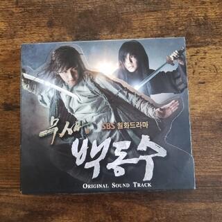 ペクドンス ost 韓国盤(テレビドラマサントラ)