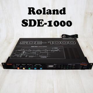 ローランド(Roland)の【動作確認済】ローランド Roland SDE-1000 デジタルディレイ(エフェクター)