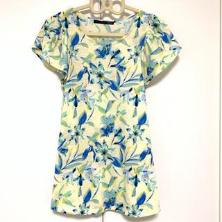 ヘザー(heather)のヘザー 花柄 Tシャツ(Tシャツ(半袖/袖なし))