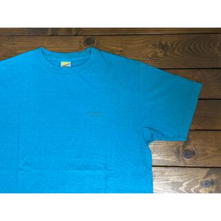 スタンダードカリフォルニア(STANDARD CALIFORNIA)のスタンダードカリフォルニア ロゴ 刺繍 クルーネック Tシャツ Lサイズ(Tシャツ/カットソー(半袖/袖なし))