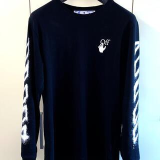 オフホワイト(OFF-WHITE)の2021春夏新作 オフホワイト ロンT(Tシャツ/カットソー(七分/長袖))