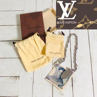 ルイヴィトン(LOUIS VUITTON)の⭐️新品同様⭐️Louis Vuitton チェーン付きマネークリップ⭐️(マネークリップ)