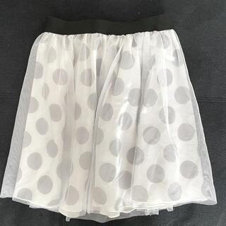ディズニー(Disney)のディズニーリゾート限定 ドットスカート(ミニスカート)