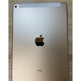 アイパッド(iPad)のiPad Air2 Wi-Fiセルラーモデル ゴールド(タブレット)
