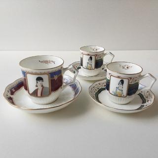 シセイドウ(SHISEIDO (資生堂))のコーヒーカップ1客&デミタスカップ2客(食器)