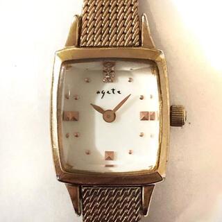 アガット(agete)のアガット 腕時計 - 081201 レディース(腕時計)