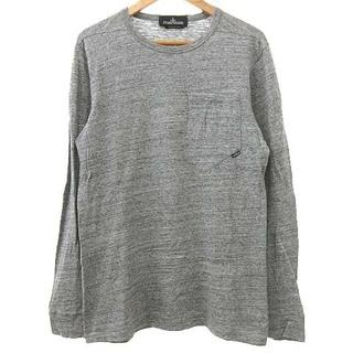 STONE ISLAND - STONE ISLAND CATCH POCKET Tシャツ 長袖 S グレー