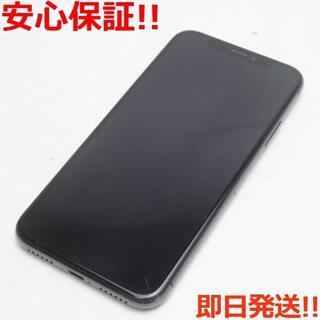 アイフォーン(iPhone)の良品中古 SIMフリー iPhoneX 256GB スペースグレイ (スマートフォン本体)