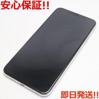 アイフォーン(iPhone)の美品 SIMフリー iPhoneXS MAX 256GB シルバー 本体 (スマートフォン本体)