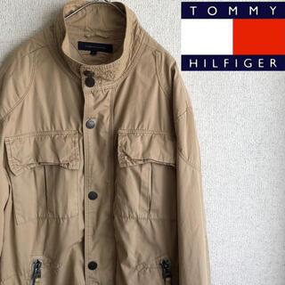 TOMMY HILFIGER - tommy hilfiger サファリ ジャケット ブルゾン ミリタリー L