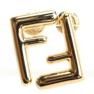 フェンディ(FENDI)のフェンディ FENDI スモール ピアス ゴールド 8AH085 B08 F0C(ピアス)