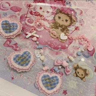 アンジェリックプリティー(Angelic Pretty)の最終値下げ ロリータ melody toys ネックレス&クリップ セット(ネックレス)