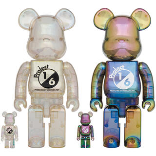 BE@RBRICK project 1/6 CLEAR CHROME セット(その他)