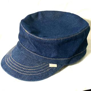 ステューシー(STUSSY)のSTUSSY/ステューシー デニムワークキャップ キャスケット 帽子(ハット)
