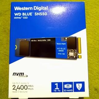 東芝 - WD BLUE SN550 NVMe SSD 1TB M.2 2280