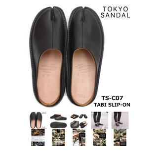 マルタンマルジェラ(Maison Martin Margiela)のTOKYO sandal TABI SLIP-ON(サンダル)
