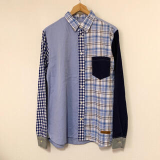 ジムマスター(GYM MASTER)のGymMaster(CAN)コットンクレイジーパターンシャツ(シャツ)