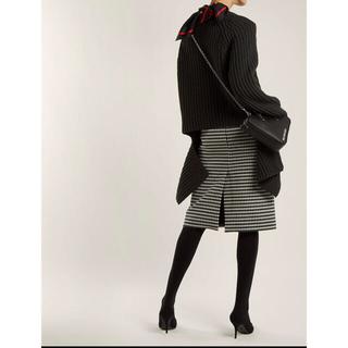 バレンシアガ(Balenciaga)のbalenciaga ウールスカート(ひざ丈スカート)
