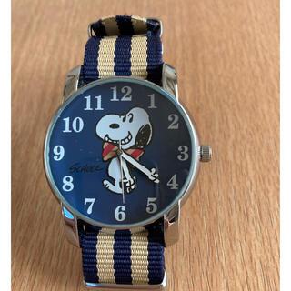 スヌーピー(SNOOPY)のスヌーピー 腕時計 可動品 未使用(腕時計)