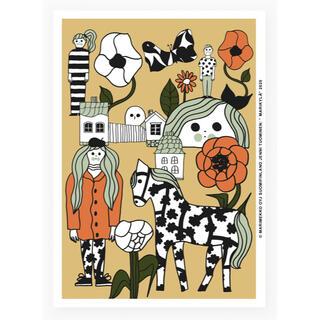マリメッコ(marimekko)のマリメッコ マリキュラ Marikyla アートポスター(その他)