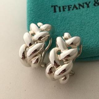 ティファニー(Tiffany & Co.)のTiffany シルバーイヤリング  希少(イヤリング)